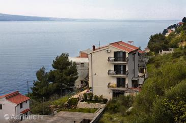 Zavode, Omiš, Property 4873 - Apartments near sea with pebble beach.