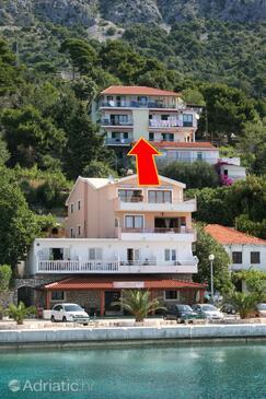 Živogošće - Porat, Makarska, Property 4878 - Apartments near sea with pebble beach.