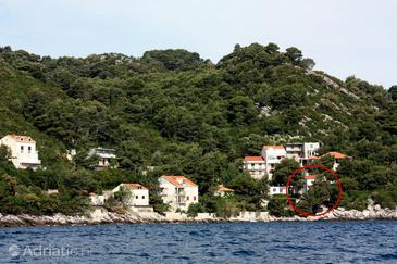 Sobra, Mljet, Property 4888 - Apartments and Rooms by the sea.