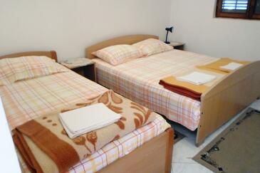 Sobra, Ložnice v ubytování typu room, s klimatizací, domácí mazlíčci povoleni a WiFi.