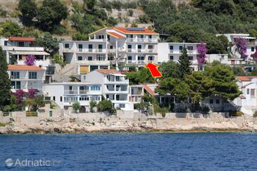 Drvenik Gornja vala, Makarska, Property 4890 - Apartments with pebble beach.