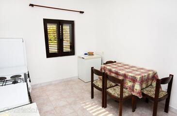 Saplunara, Dining room in the apartment.