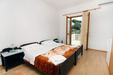 Saplunara, Ložnice v ubytování typu room, s klimatizací, domácí mazlíčci povoleni a WiFi.