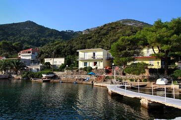 Okuklje, Mljet, Property 4912 - Apartments by the sea.
