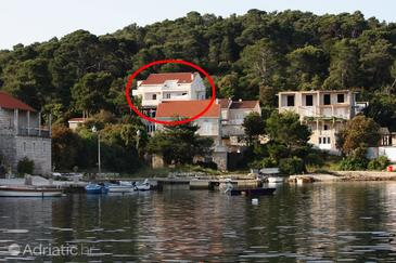 Pomena, Mljet, Property 4917 - Apartments and Rooms near sea with pebble beach.