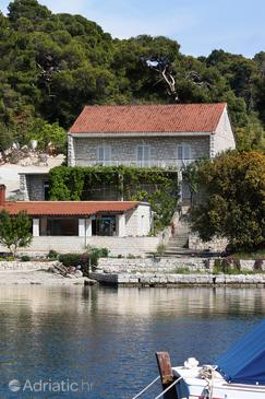 Pomena, Mljet, Propiedad 4918 - Habiatciones near sea with pebble beach.