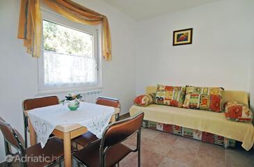 Soline, Dining room in the apartment, dopusteni kucni ljubimci i WIFI.