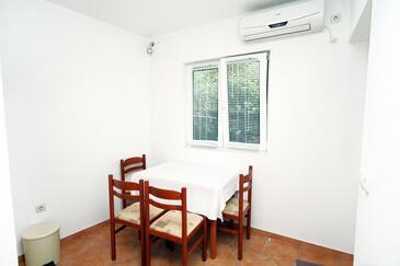 Polače, Jadalnia w zakwaterowaniu typu apartment, dostupna klima, dopusteni kucni ljubimci i WIFI.