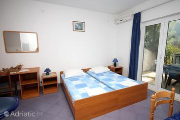 Saplunara, Living room in the apartment, dostupna klima, dopusteni kucni ljubimci i WIFI.