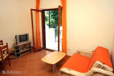Saplunara, Гостиная в размещении типа apartment, Домашние животные допускаются и WiFi.