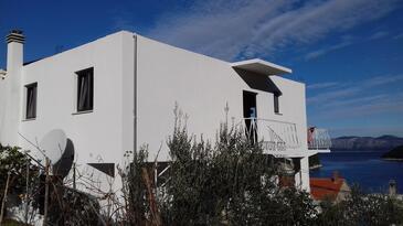 Prožurska Luka, Mljet, Objekt 4940 - Ubytování v blízkosti moře s kamínkovou pláží.