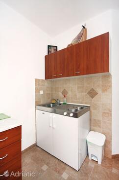 Sobra, Kitchen in the apartment.