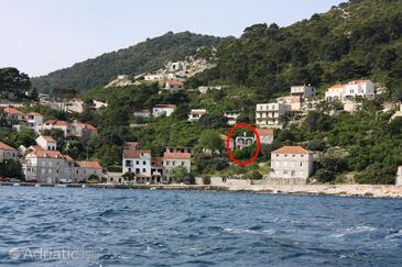Sobra, Mljet, Property 4941 - Apartments by the sea.