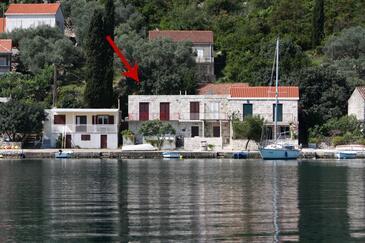 Prožurska Luka, Mljet, Objekt 4946 - Ubytování v blízkosti moře.