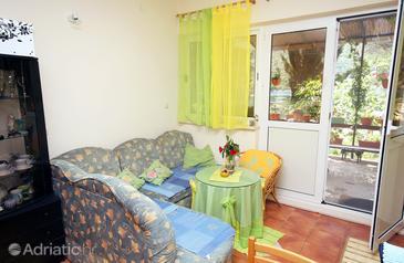 Okuklje, Dnevna soba v nastanitvi vrste apartment, Hišni ljubljenčki dovoljeni in WiFi.