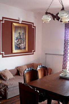 Supetarska Draga - Gornja, Dining room in the apartment, WIFI.