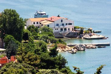 Supetarska Draga - Gornja, Rab, Property 4960 - Apartments and Rooms by the sea.