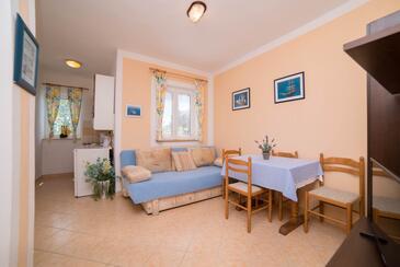 Barbat, Jadalnia w zakwaterowaniu typu apartment, Dostępna klimatyzacja, zwierzęta domowe są dozwolone i WiFi.