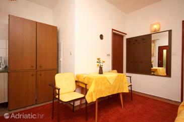 Barbat, Dining room in the apartment, dopusteni kucni ljubimci i WIFI.