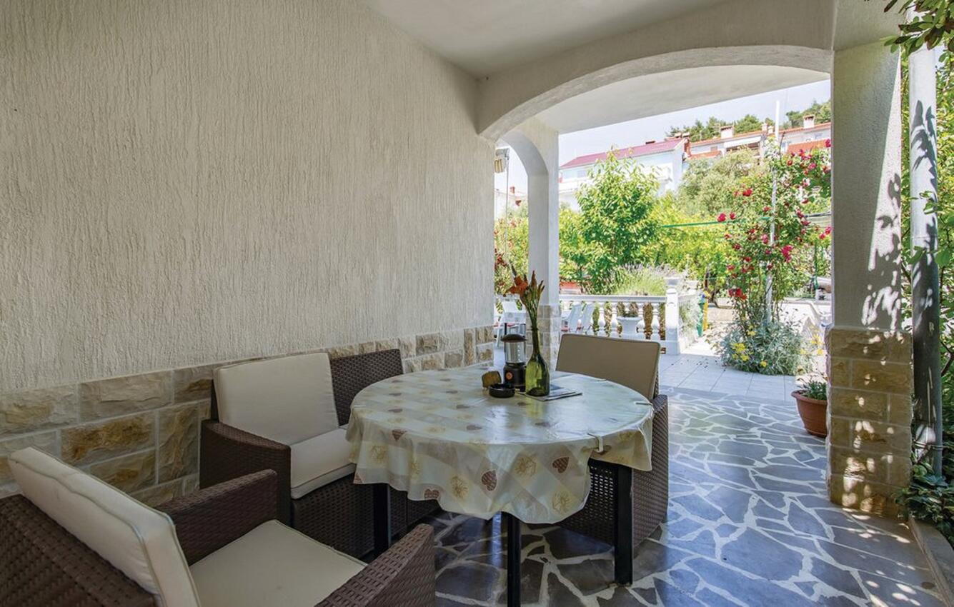 Ferienwohnung im Ort Palit (Rab), Kapazität 6 Ferienwohnung in Kroatien