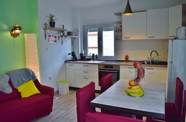 Kampor, Столовая в размещении типа apartment, доступный кондиционер и WiFi.