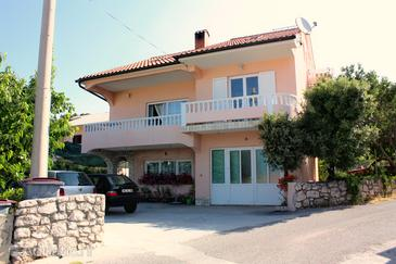 Barbat, Rab, Property 5005 - Apartments near sea with pebble beach.