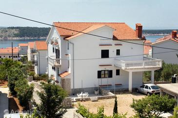 Barbat, Rab, Property 5015 - Apartments with pebble beach.