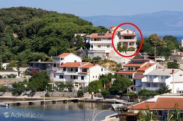 Kampor, Rab, Property 5034 - Apartments near sea with sandy beach.