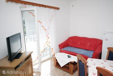 Palit, Living room in the apartment, dostupna klima i WIFI.
