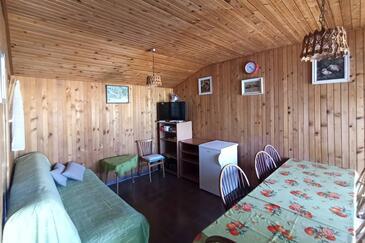 Supetarska Draga - Donja, Obývací pokoj v ubytování typu apartment, WiFi.