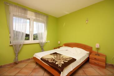 Banjol, Sypialnia w zakwaterowaniu typu room, zwierzęta domowe są dozwolone.