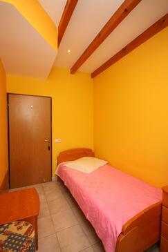 Banjol, Ložnice v ubytování typu room, domácí mazlíčci povoleni.