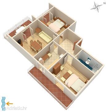 Palit, План в размещении типа apartment, Домашние животные допускаются и WiFi.
