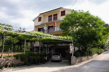 Palit, Rab, Property 5048 - Apartments with pebble beach.