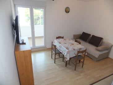 Supetarska Draga - Gornja, Jídelna v ubytování typu apartment, WiFi.