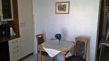 Jezera, Столовая в размещении типа apartment, WiFi.