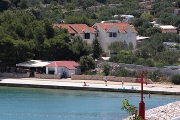 Jezera, Murter, Objekt 5062 - Ubytovanie blízko mora s kamienkovou plážou.