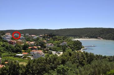 Kampor, Rab, Property 5064 - Apartments and Rooms with sandy beach.