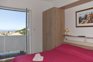 Kampor, Спальня в размещении типа room, Домашние животные допускаются и WiFi.