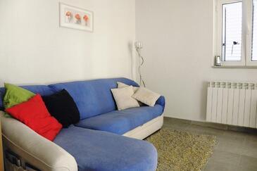 Barbat, Dnevna soba v nastanitvi vrste apartment, WiFi.