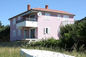 Barbat, Rab, Objekt 5068 - Apartmani i sobe blizu mora.