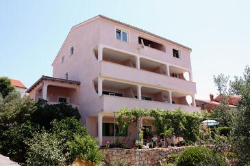 Barbat, Rab, Property 5070 - Apartments and Rooms with pebble beach.