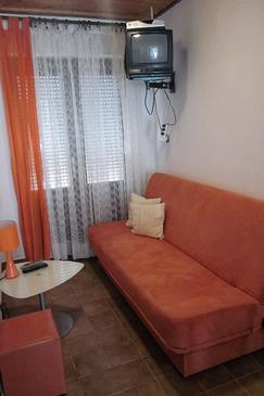Mundanije, Pokój dzienny w zakwaterowaniu typu apartment, WIFI.