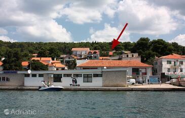 Tisno, Murter, Property 5094 - Vacation Rentals near sea with pebble beach.