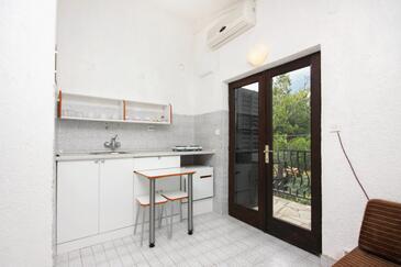 Jezera, Kuchnia w zakwaterowaniu typu studio-apartment, WIFI.