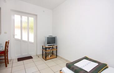 Jezera, Obývací pokoj v ubytování typu apartment, WIFI.