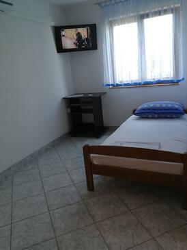 Jezera, Pokój dzienny w zakwaterowaniu typu apartment, zwierzęta domowe są dozwolone i WiFi.