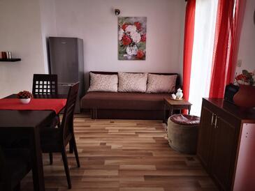 Jezera, Living room in the apartment, WiFi.