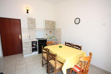 Tisno, Dining room in the apartment, WIFI.