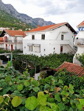 Podaca, Makarska, Obiekt 515 - Apartamenty przy morzu ze żwirową plażą.